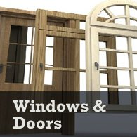 basement windows and doors