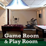 create a game room and play room out of your basement