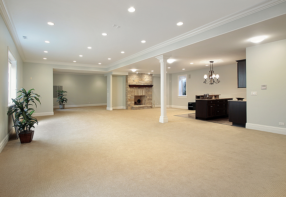 Full Basement Renovation, How Much To Finish A Basement In Ontario